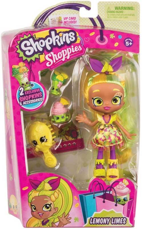 Wholesalers of Shopkins Shoppies Core Dolls 4 Asst toys