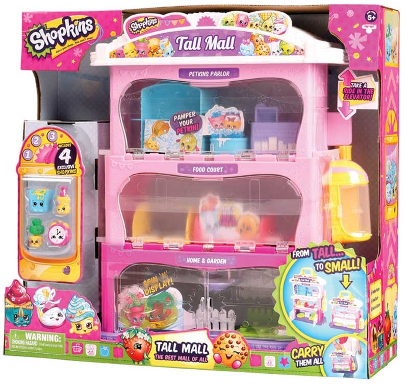 Wholesalers of Shopkins Tall Mall Playset toys