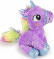Wholesalers of Sitting Unicorn Plush 18cm toys image