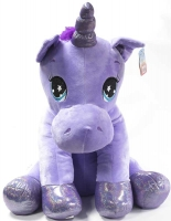 Wholesalers of Sitting Unicorn Plush 60cm toys image