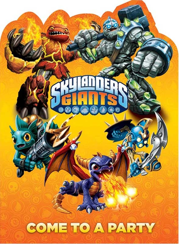 Wholesalers of Skylander Invites toys