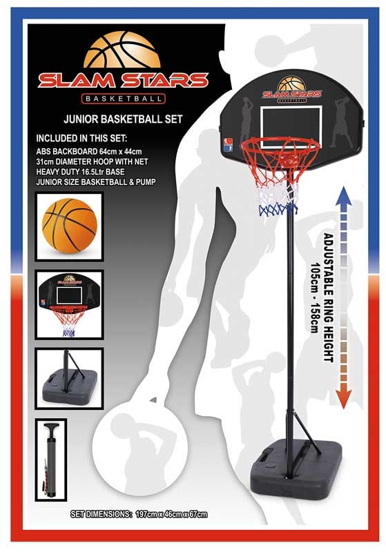 Wholesalers of Slam Stars Junior Basket Ball Set toys