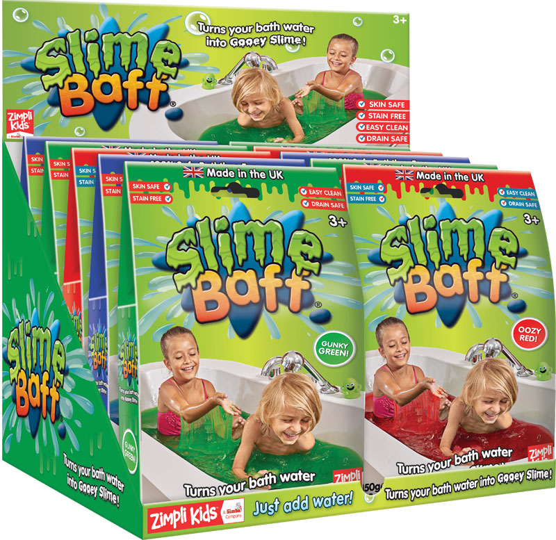 Wholesalers of Slime Baff Mixed Colours - 150g toys
