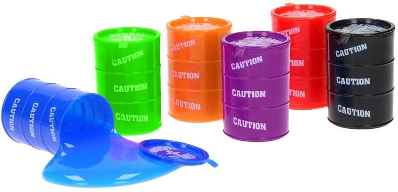 Wholesalers of Slime Barrel Asst Cols toys
