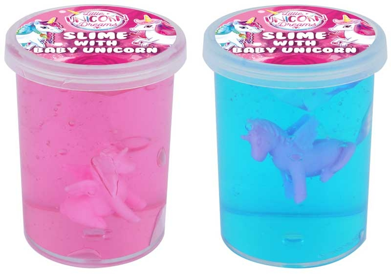 Wholesalers of Slime Clear With Unicorn toys