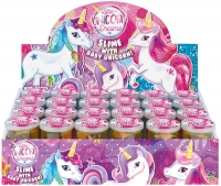 Wholesalers of Slime Clear With Unicorn toys image 3