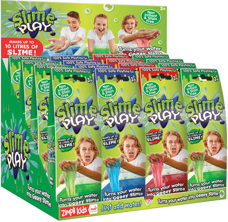 Wholesalers of Slime Play- Mixed Colours - 50g toys