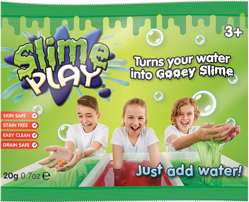 Wholesalers of Slime Play Foil Bags - 20g toys
