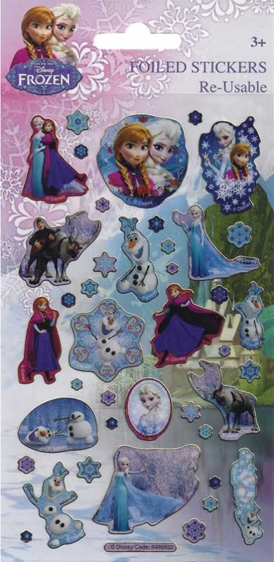 Wholesalers of Disney Frozen Stickers toys