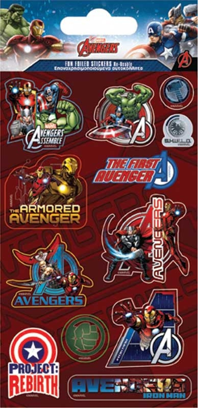 Wholesalers of Marvel Avengers Stickers toys