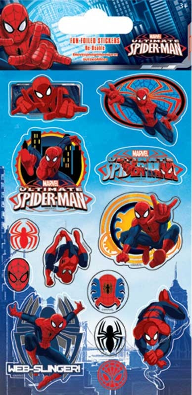 Wholesalers of Spiderman Stickers toys