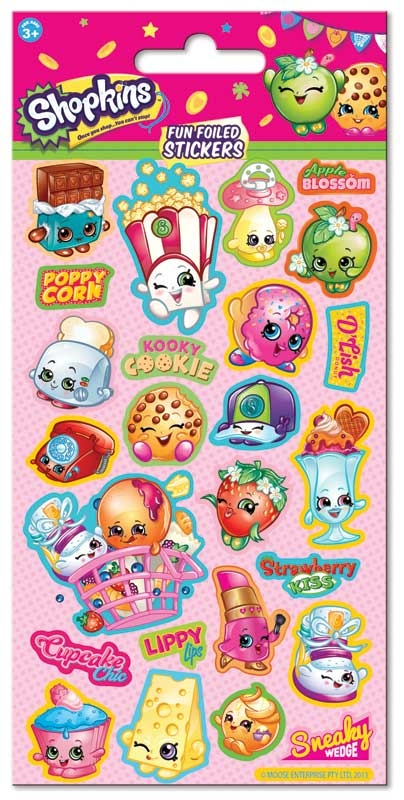 Wholesalers of Shopkins Stickers toys