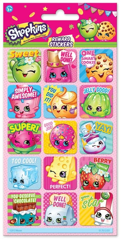 Wholesalers of Shopkins Reward Stickers toys