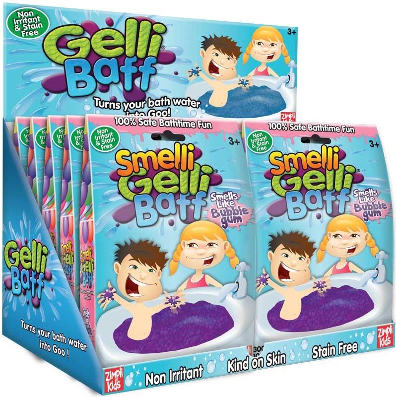 Wholesalers of Smelli Gelli Baff 300g Bubblegum toys