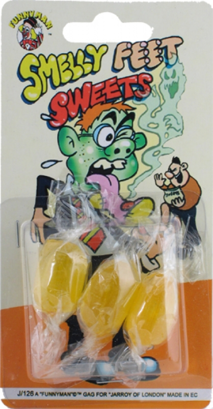 Wholesalers of Smelly Feet Sweets toys
