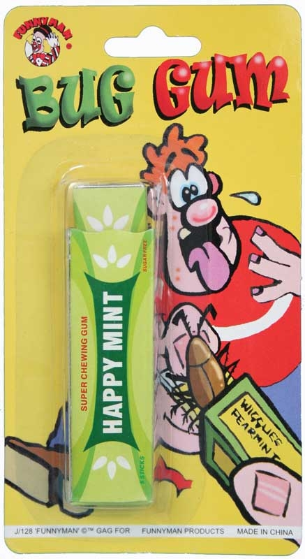 Wholesalers of Snappy Bug Gum toys