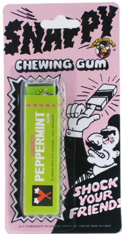 Wholesalers of Snappy Chewing Gum toys