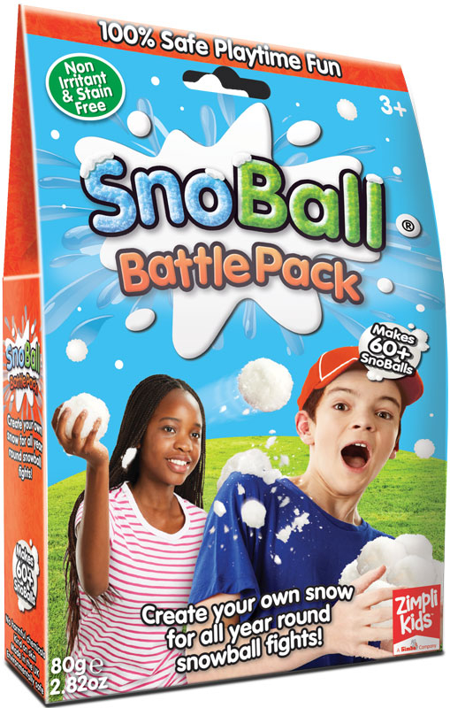 Wholesalers of Snoball Battle Pack 4 Pack - 80g toys