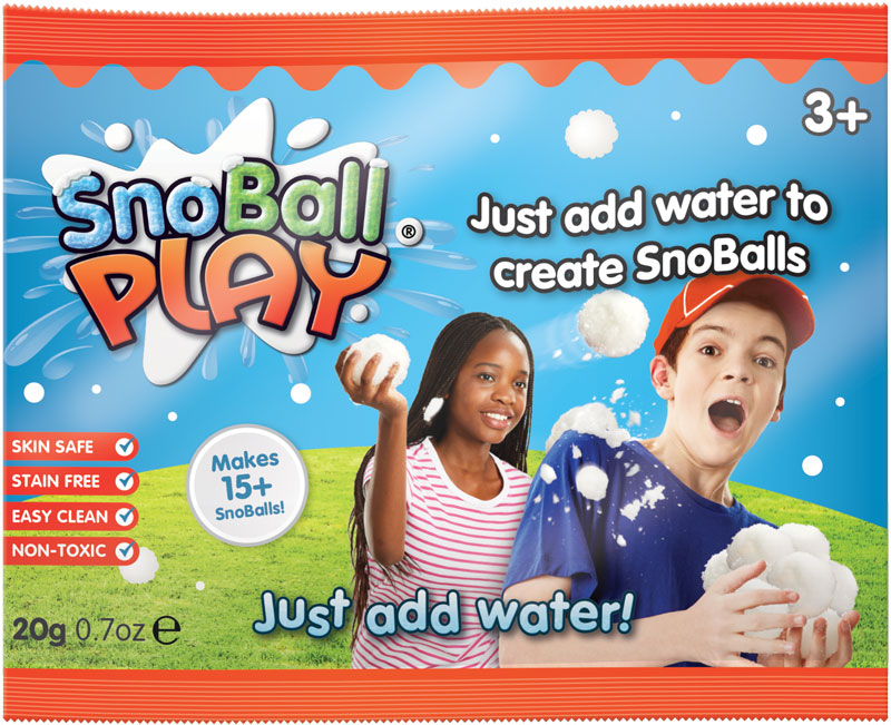 Wholesalers of Snoball Play Foil Bags - 20g toys