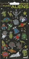 Wholesalers of Aliens Themed Stickers toys image