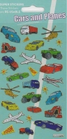 Wholesalers of Cars And Planes Theme Stickers toys image