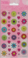 Wholesalers of Flowers And Hearts Theme Stickers toys image