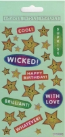 Wholesalers of Wicked Stars Theme Stickers toys image