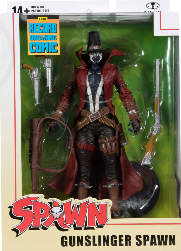 Wholesalers of Spawn - Gunslinger toys