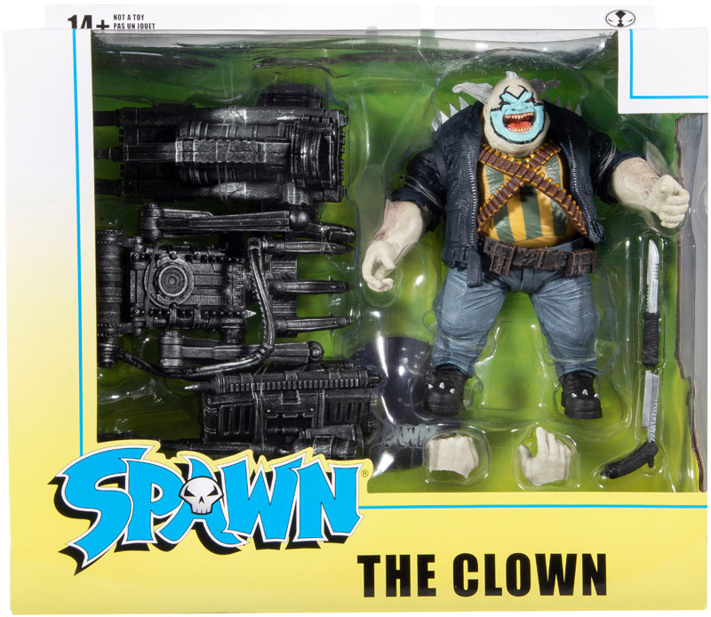 Wholesalers of Spawn Deluxe Set - The Clown toys