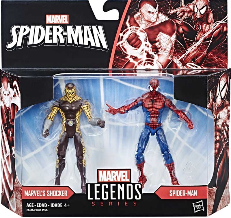Wholesalers of Spiderman 3.75inch Legends Movie Packs Asst toys