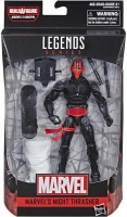 Wholesalers of Spiderman 6 Inch Infinite Legends Night Thrasher toys image