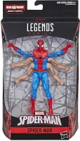 Wholesalers of Spiderman 6 Inch Infinite Legends Six Arm Spiderman toys image