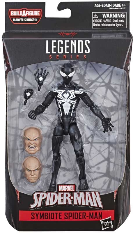 Wholesalers of Spiderman 6 Inch Infinite Legends Symbiote Spider-man toys