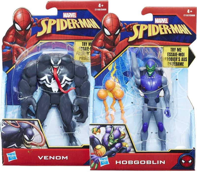 Wholesalers of Spiderman 6in Quick Shot Figures toys