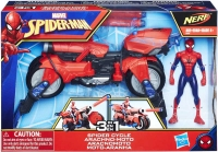 Wholesalers of Spiderman 6in Spider Cycle toys image