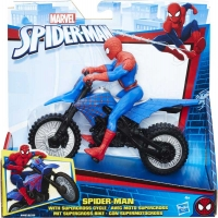 Wholesalers of Spiderman 6inch Figure Ad Vehicle Asst toys image