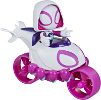Wholesalers of Spiderman Amazing Friends Ghost Spider Copter Cycle toys image 2