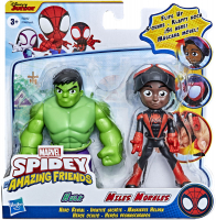 Wholesalers of Spidey Amazing Friends Miles And Hulk toys image