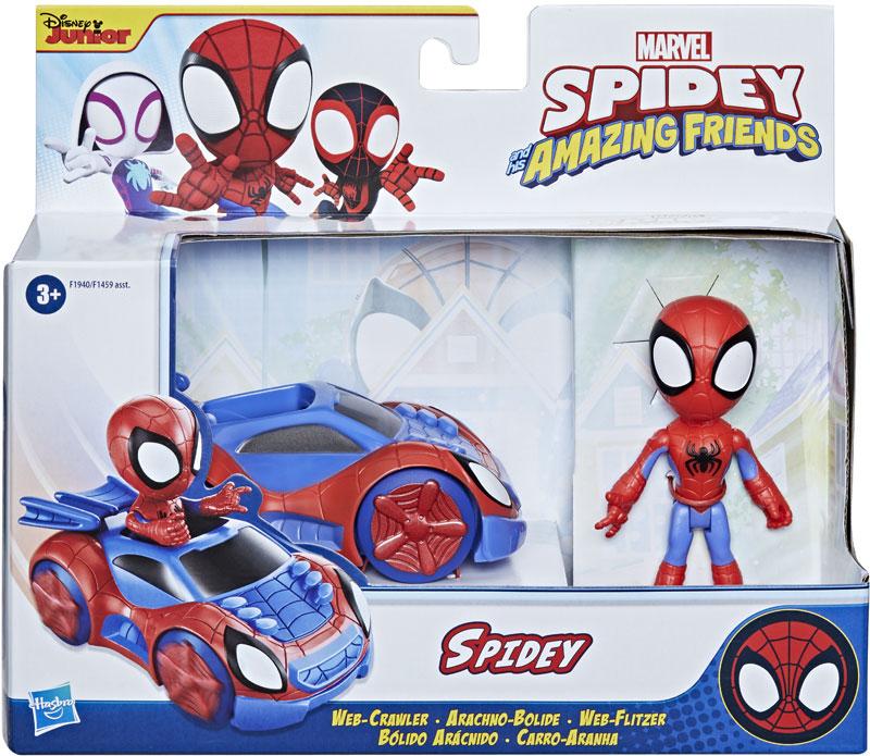 Wholesalers of Spiderman Amazing Friends Spidey Web Crawler toys