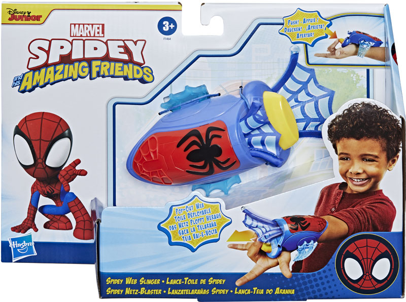 Wholesalers of Spiderman Amazing Friends Spidey Web Slinger toys
