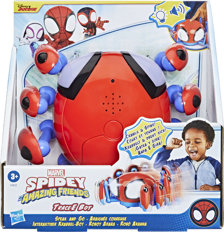 Wholesalers of Spiderman Amazing Friends Trace-e toys