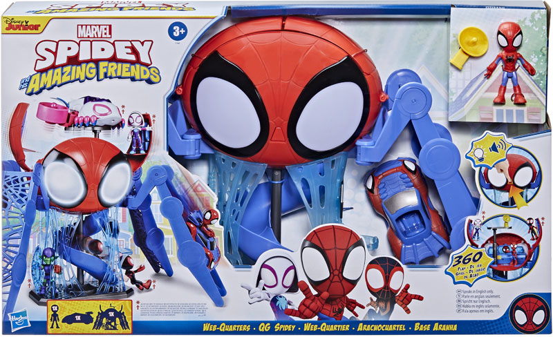 Wholesalers of Spiderman Amazing Friends Webquarters toys