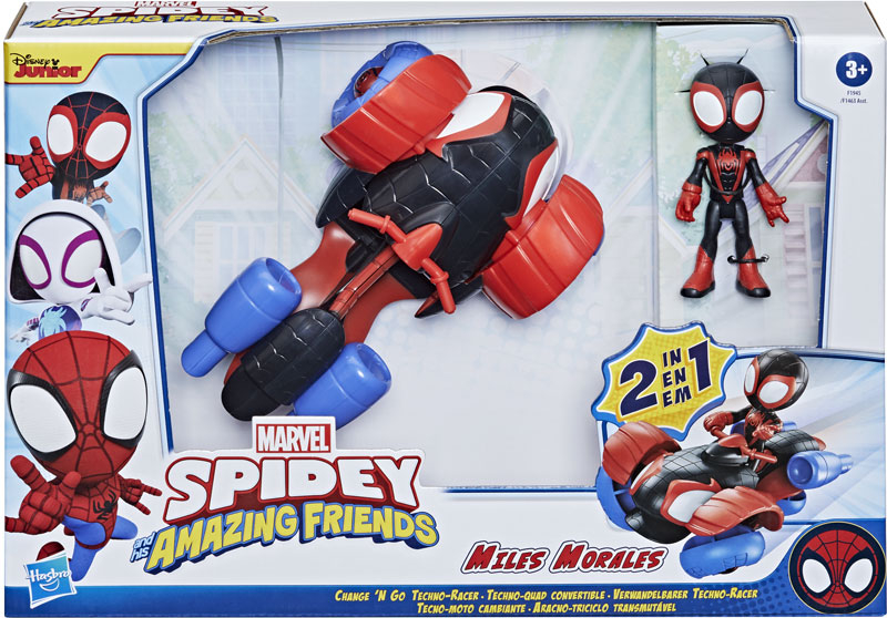 Wholesalers of Spidey Amazing Friends 2 In 1 Techno Racer toys
