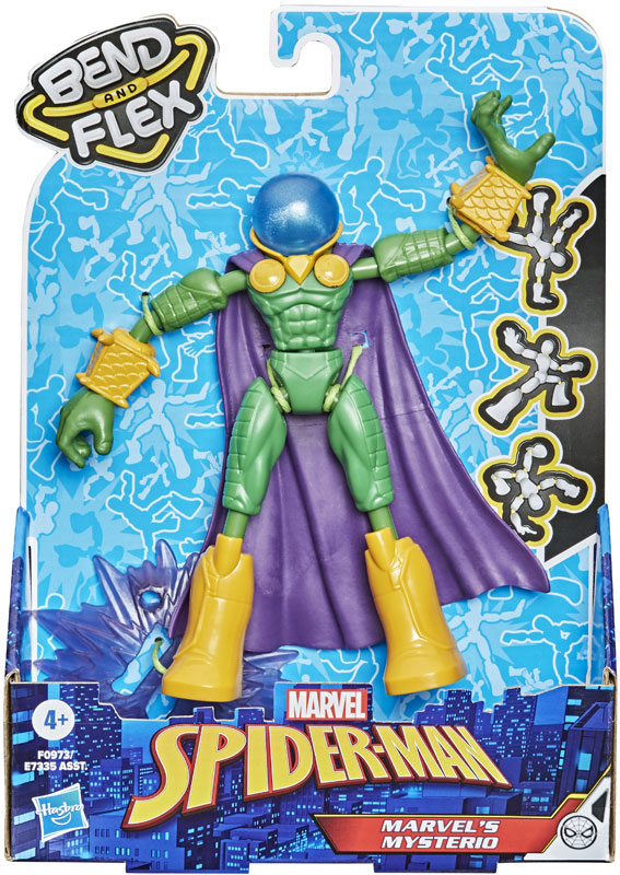 Wholesalers of Spiderman Bend And Flex Marvels Mysterio toys
