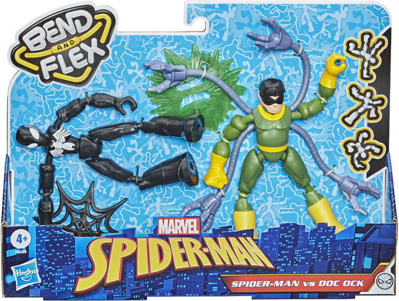 Wholesalers of Spiderman Bend And Flex Spider Man Vs Doc Ock toys