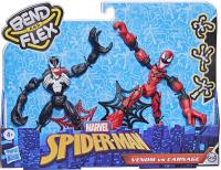 Wholesalers of Spiderman Bend And Flex Venom Vs Carnage toys image