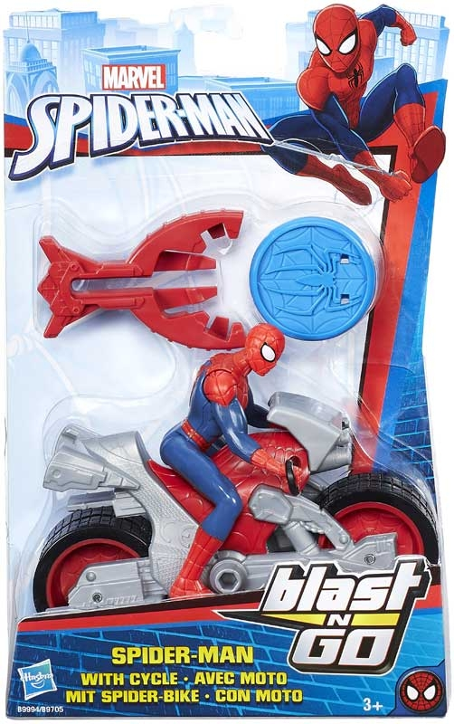 Wholesalers of Spiderman Blast N Go Asst toys