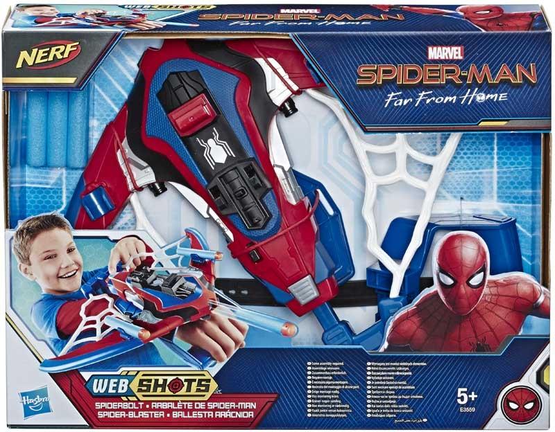 Wholesalers of Spiderman Spiderbolt Blaster toys