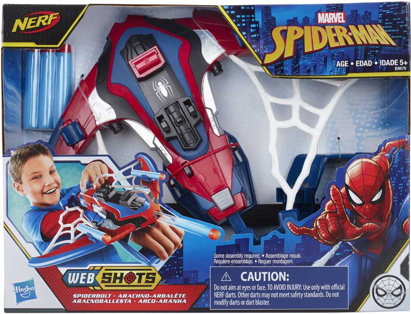 Wholesalers of Spiderman Spiderbolt Blaster toys