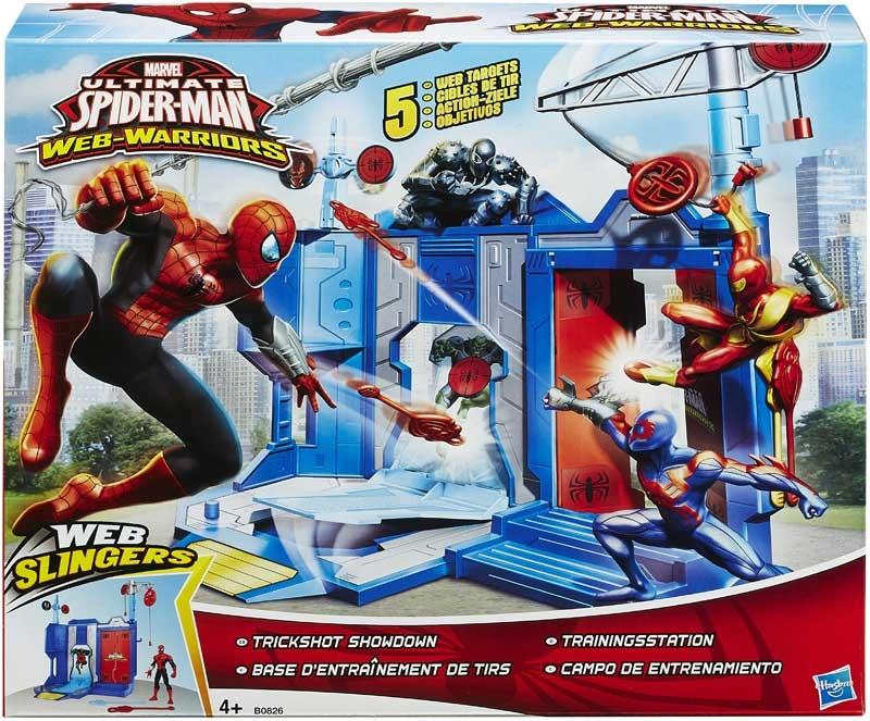 Wholesalers of Spiderman Trickshot Showdown toys